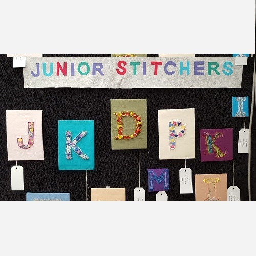 More of the Junior Stitchers Display