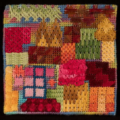 T3 Lesley Chapman - A Tiny Treasury of Canvas Stitches